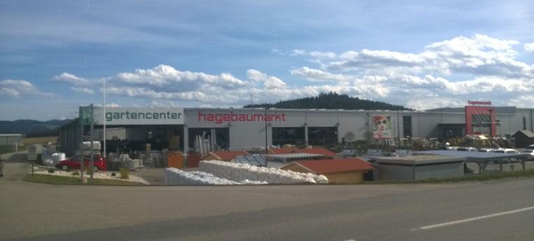 Standort-Ausgabe Einkaufszentrum Sabitzer Gesellschaft m.b.H. <br>(Baumarkt)