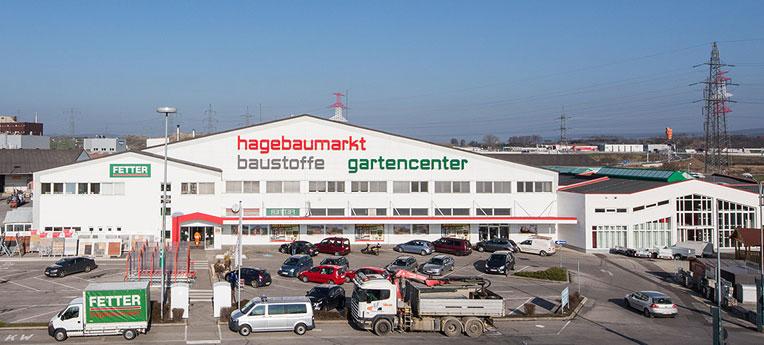 Standort-Ausgabe Fetter Baumarkt Gesellschaft m.b.H. <br><span>(Baumarkt + GC)</span>