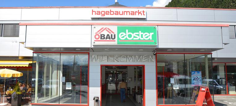 Standort-Ausgabe Baumarkt und Gartencenter Ebster GmbH <br>(Baumarkt + GC)