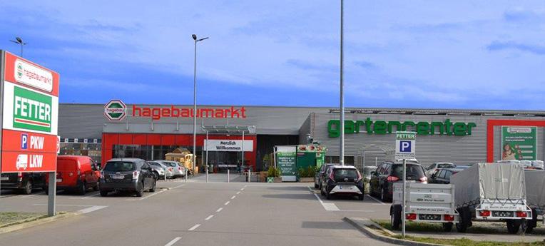 Standort-Ausgabe Fetter Baumarkt Gesellschaft m.b.H <br><span>(Baumarkt)</span>