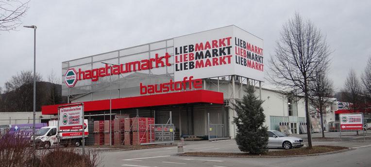 Standort-Ausgabe Lieb Markt GmbH <br>(Ndl. Graz Nord Baustoffe)