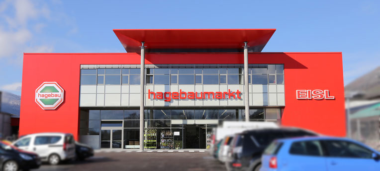 Standort-Ausgabe Johann Eisl Gesellschaft mbH <br>(Baumarkt)