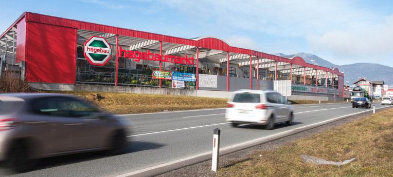 Standort-Ausgabe Graspointner GmbH <br>(hagebaumarkt)