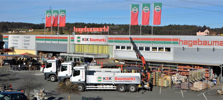 Standort-Ausgabe KSK Baumarkt GmbH <br>(BSTH Preding)