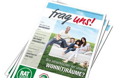 """Bild zu hagebau launcht neues Kundenmagazin """"frag uns!"""""""